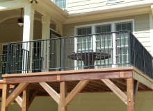 Iron Railing Installation After Job 2