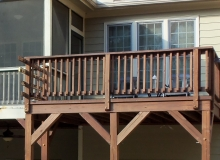 Iron Railing Installation Before Job 2