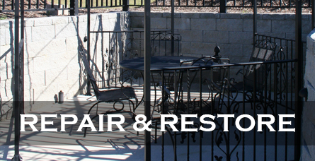 Iron repair & Restore Raleigh Cary NC