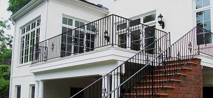 Iron Railings, Stairs U0026 Custom Iron Work | Raleigh NC | Cast Iron Elegance
