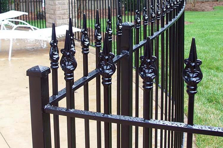 Custom Iron Pool Fence Cary NC
