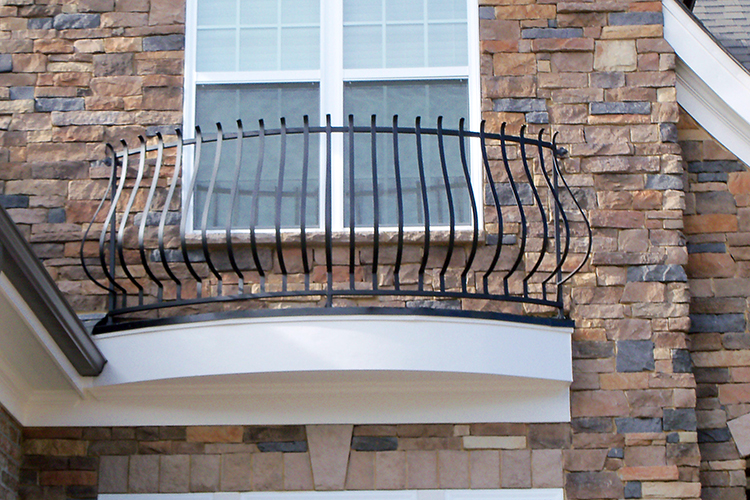 Iron Window Box Raleigh NC